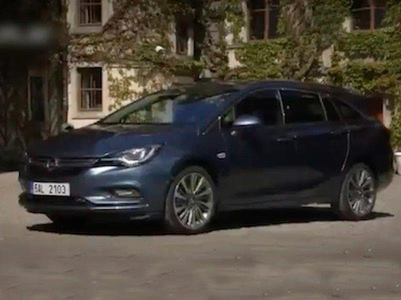 Video test Opel Astra ST 1.6 CDTI