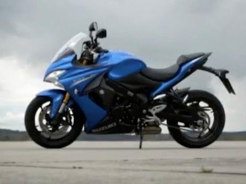 Video test Suzuki GSX