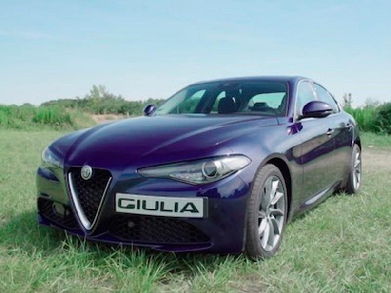 Video test Alfa Romeo Giulia 2,2 JTD