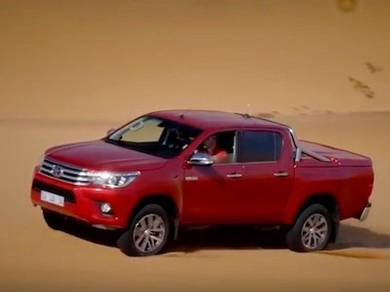 Video test Toyota Hilux