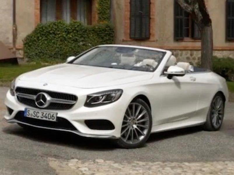 Video test Mercedes Benz S500 Cabriolet