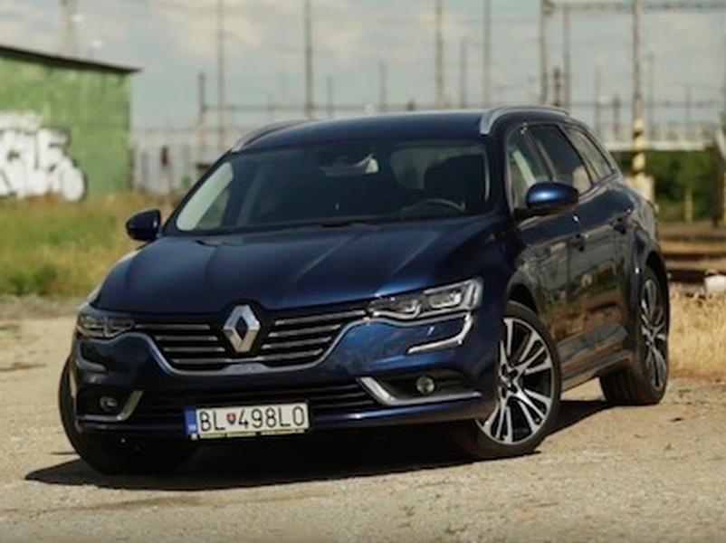 Video test Renault Talisman Grandtour 2.0 TCe