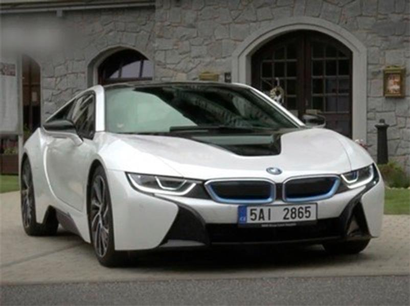 Video test BMW i8