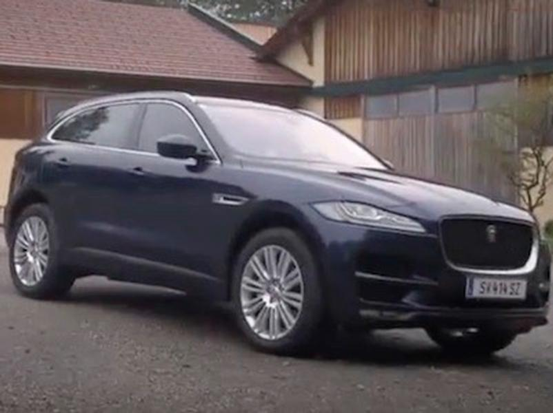 Test Jaguar F-Pace 3.0D AWD