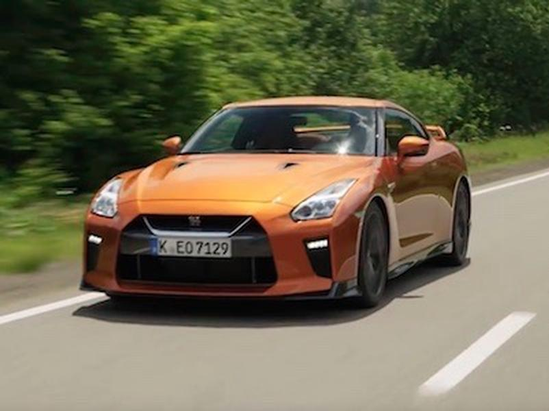 Video test Nissan GT-R