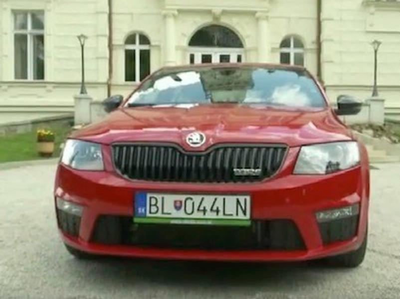 Test Škoda Octavia RS 4x4
