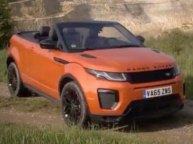 Video test Range Rover Evoque Cabriolet TD4 HSE