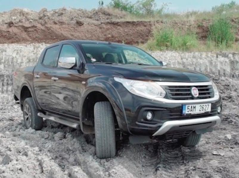 Video test Fiat Fullback 2,4D 4WD