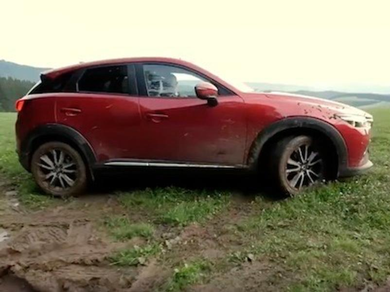 Video test MAZDA CX-3 1.5 Skyactive