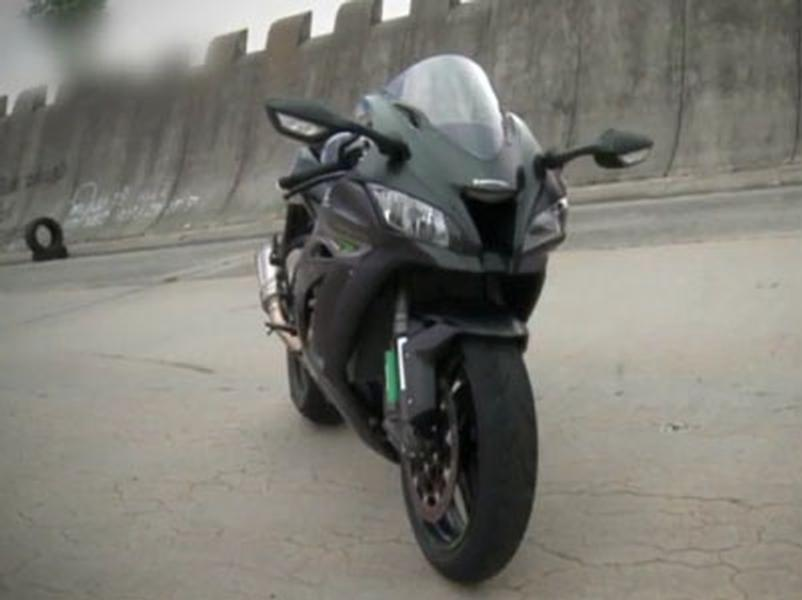 Video test Kawasaki Ninja ZX-10R
