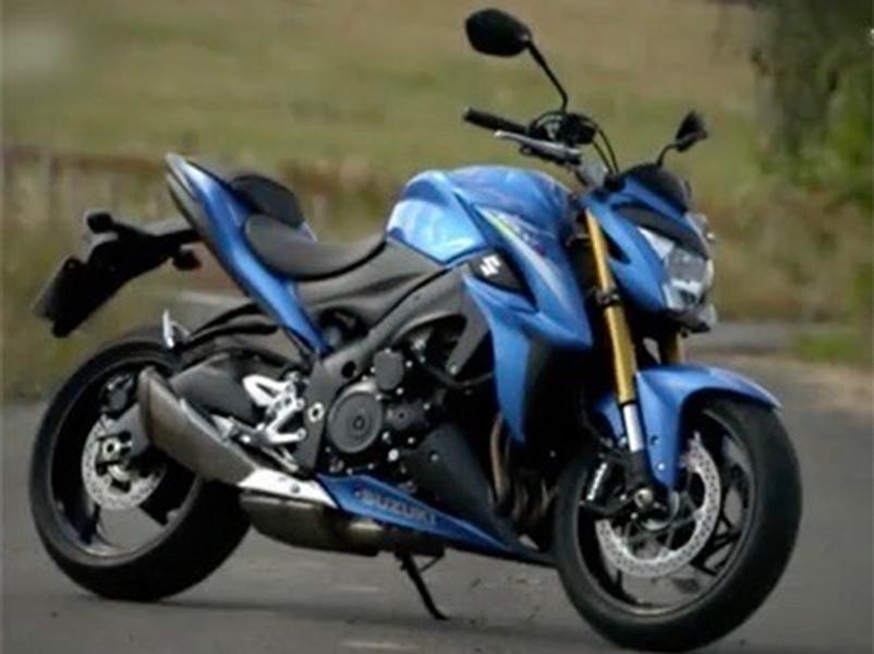 Video test Suzuki GSX S1000 ABS
