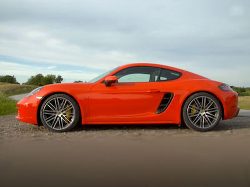Video test Porsche 718 Cayman S