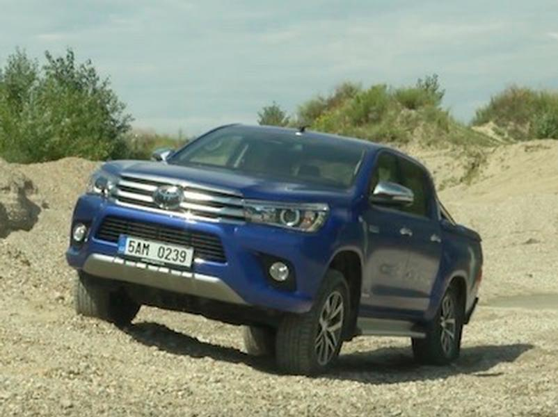 Video test Toyota Hilux Double Cab