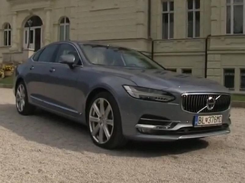 Video test Volvo S90 T6 AWD