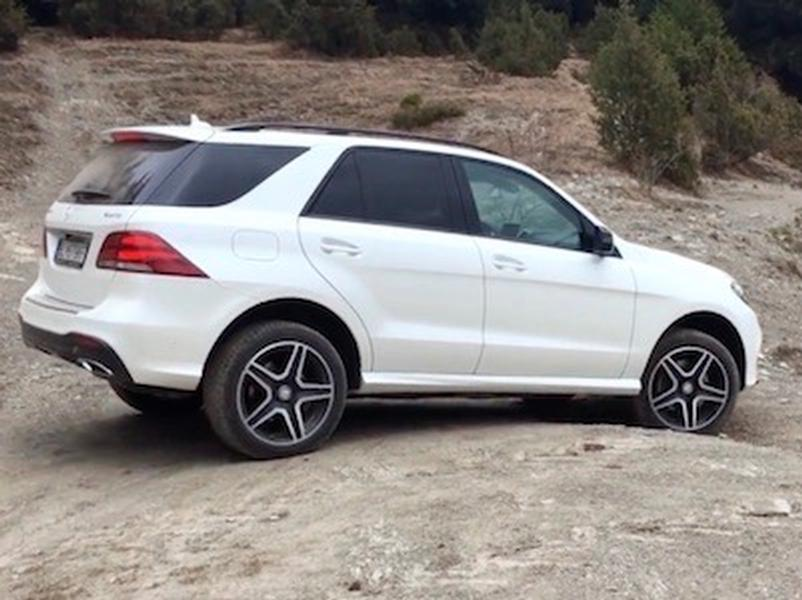 Video test Mercedes-Benz GLE 350d