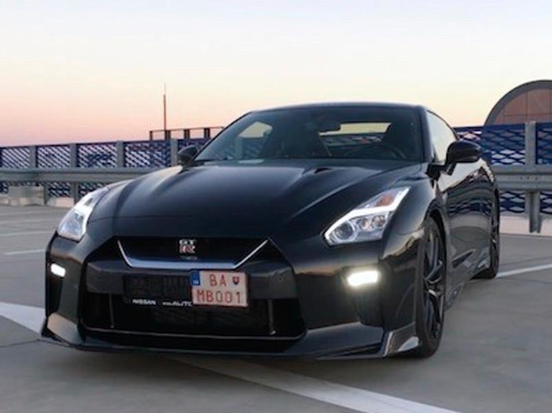 Video test Nissan GT-R 2017 Black Edition