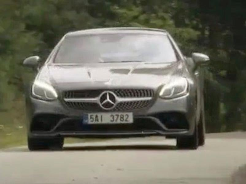 Test Mercedes-Benz SLC 200