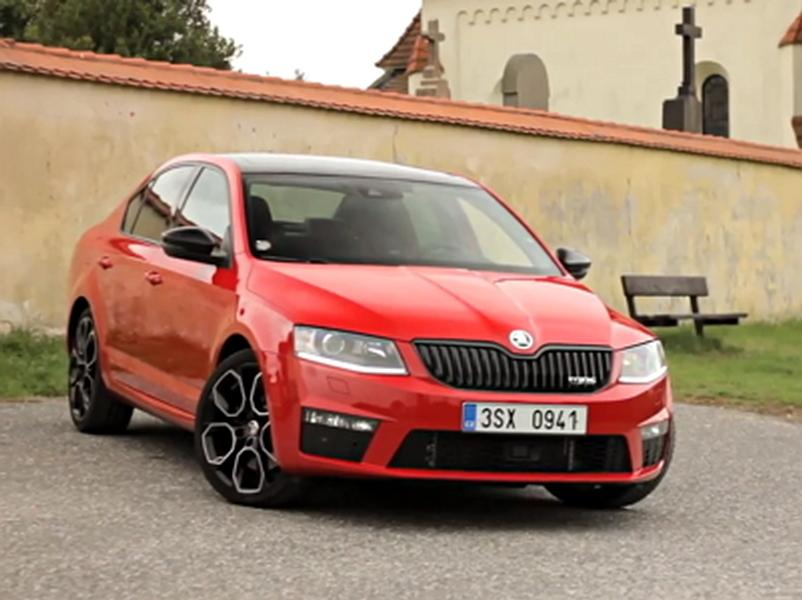 Video test Škoda Octavia RS230