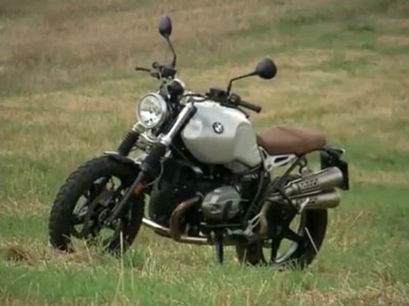Video test BMW R Ninet Scrambler
