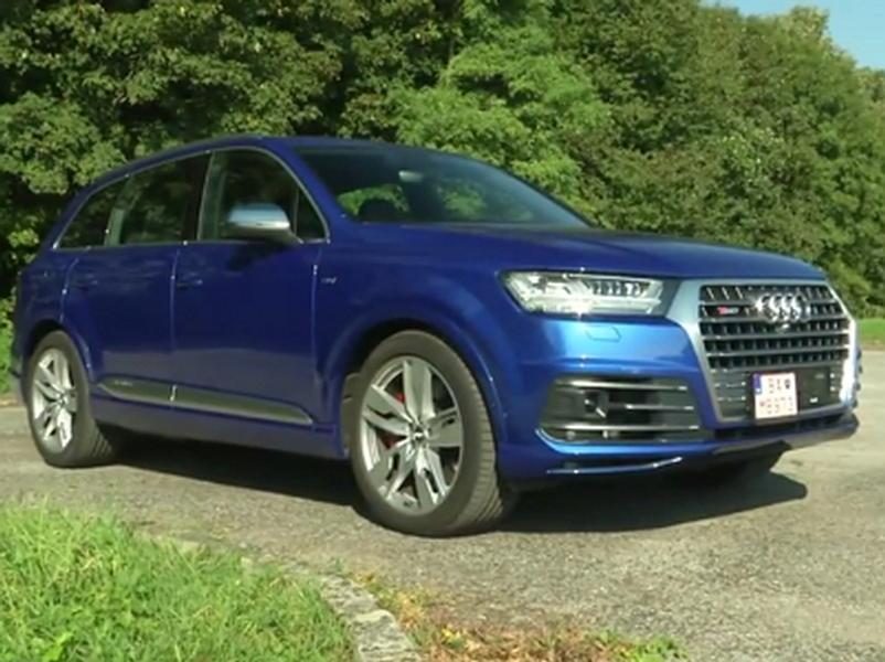 Test Audi SQ7 4.0 TDI