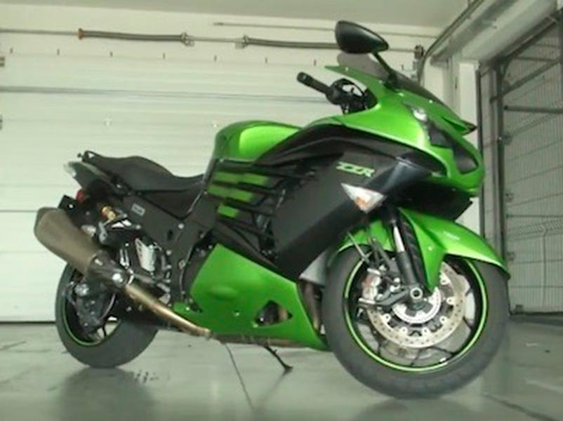 Video test Kawasaki ZZR 1400