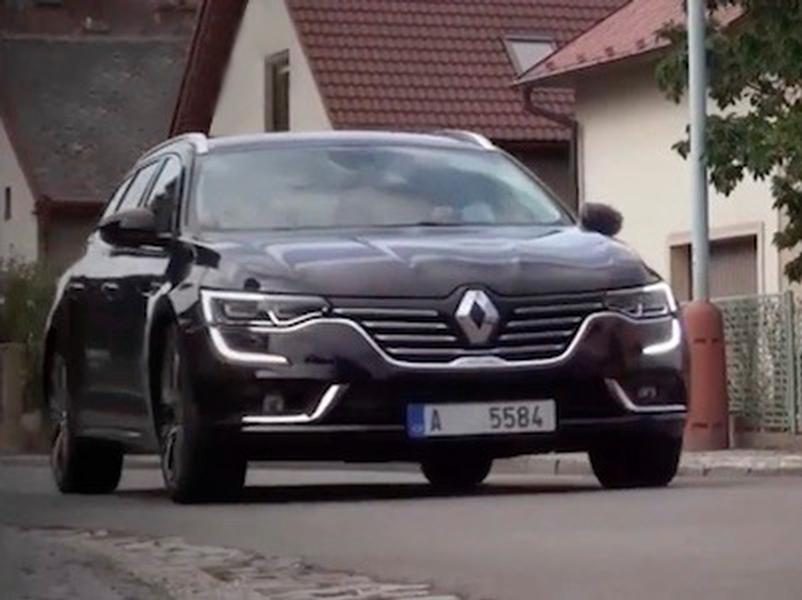 Video test Renault Talisman Grandtour 160 DCI