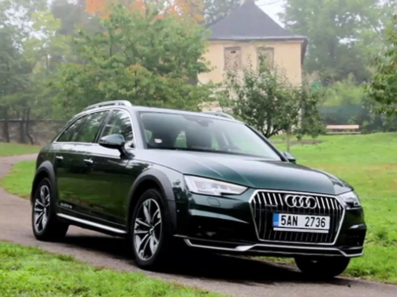 Video test Audi A4 Allroad