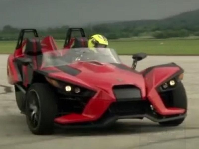Video test Polaris Slingshot