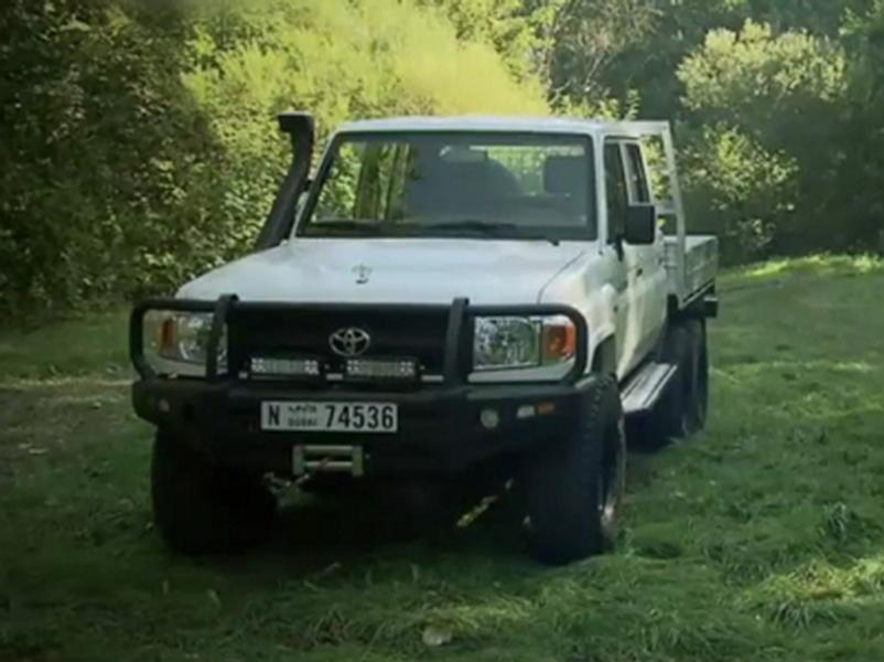 Video test Toyota Land Cruiser 79 DC 4,2 TD 6x6