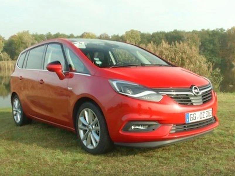Video test Opel Zafira 1.6 Turbo