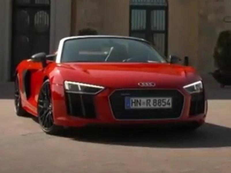 Video test Audi R8 Spyder 5.2 FSI Quattro