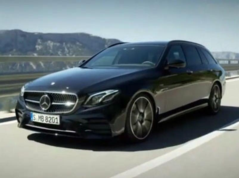 Video test Mercedes AMG E 43