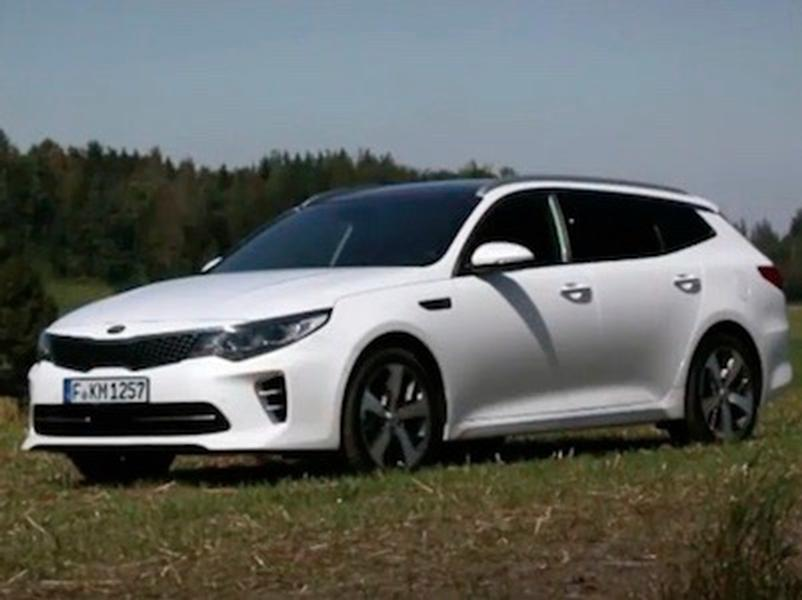 Test Kia Optima SW