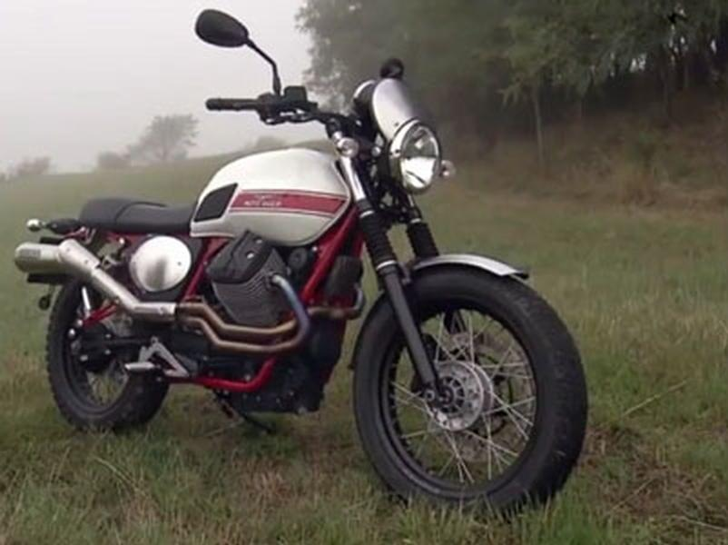 Video test Moto-Guzzi V7 II Stornello