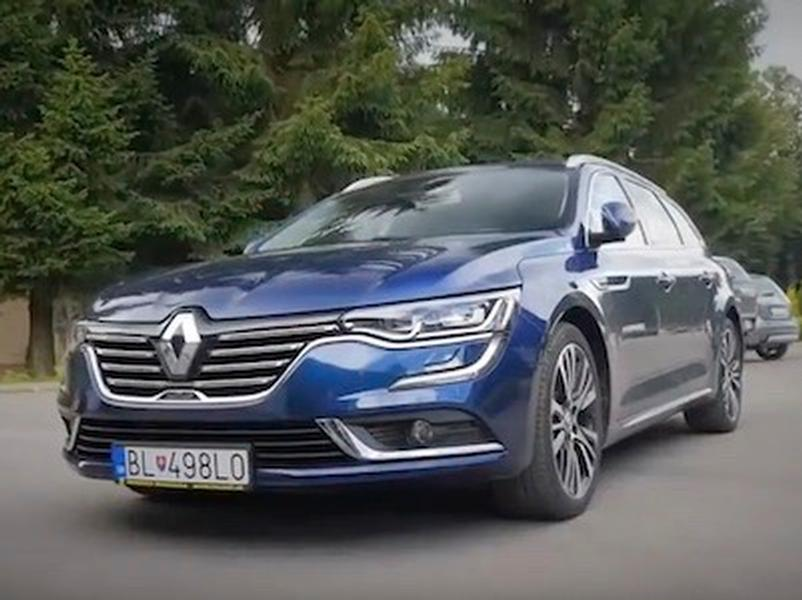 Video test Renault Talisman Grandtour 4control