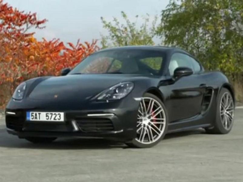 Video test Porsche 718 Cayman S PDK