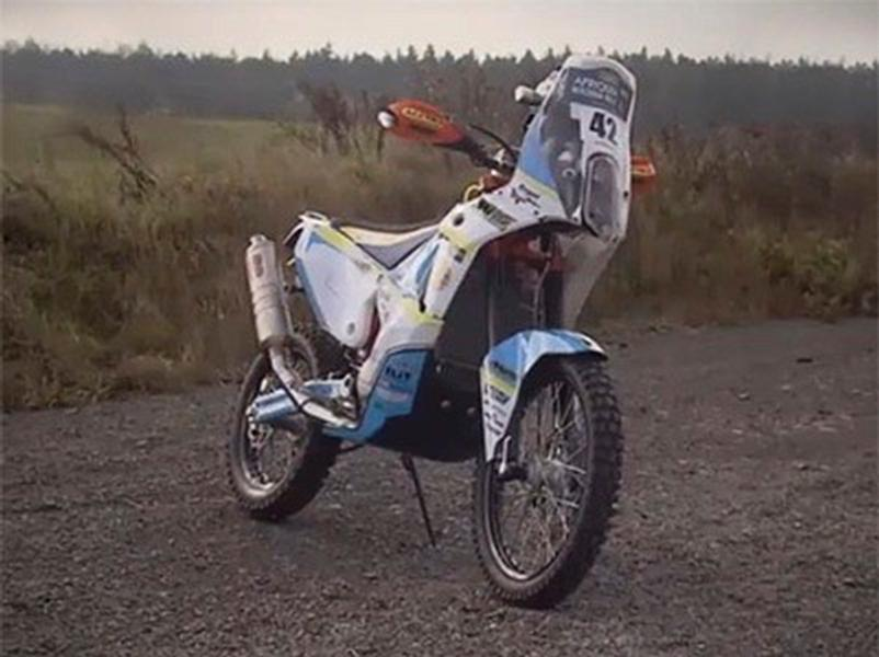 Video test KTM 450 Rally
