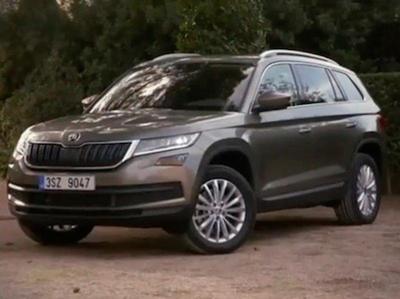 Video test Škoda Kodiaq 2,0 TDI 4x4