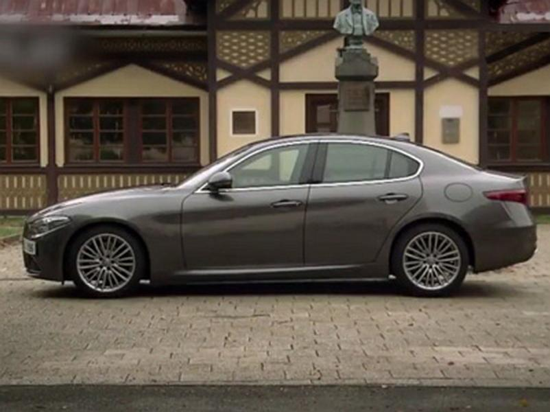 Video test Alfa Romeo Giulia 2.2D