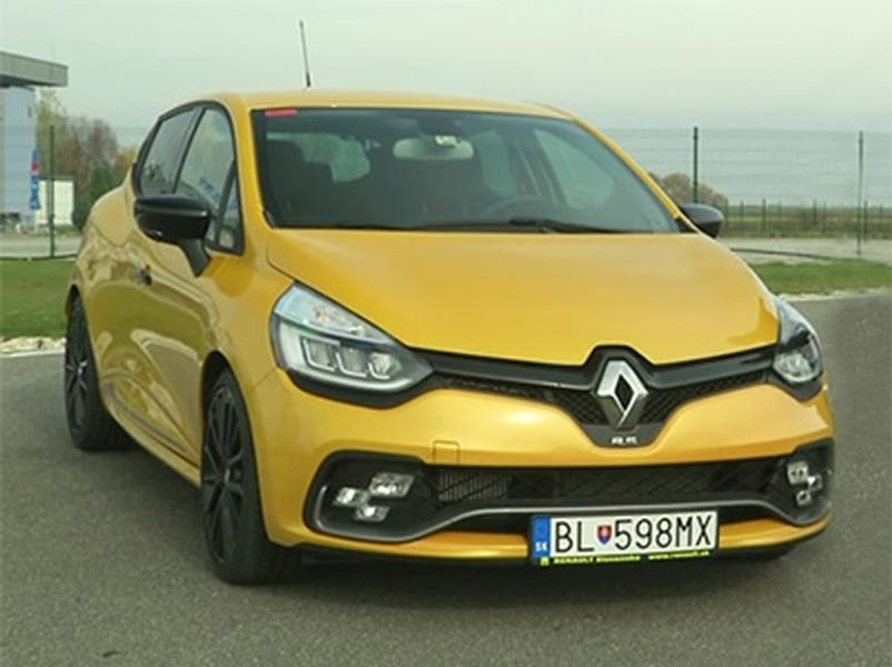 Video test Renault CLIO RS