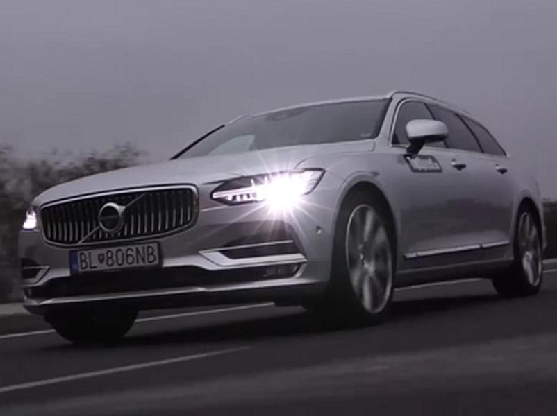 Video test Volvo V90 D5 AWD