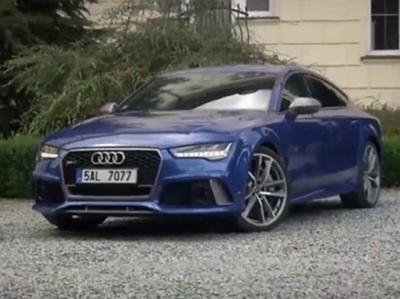 Video test Audi RS7 Sportback
