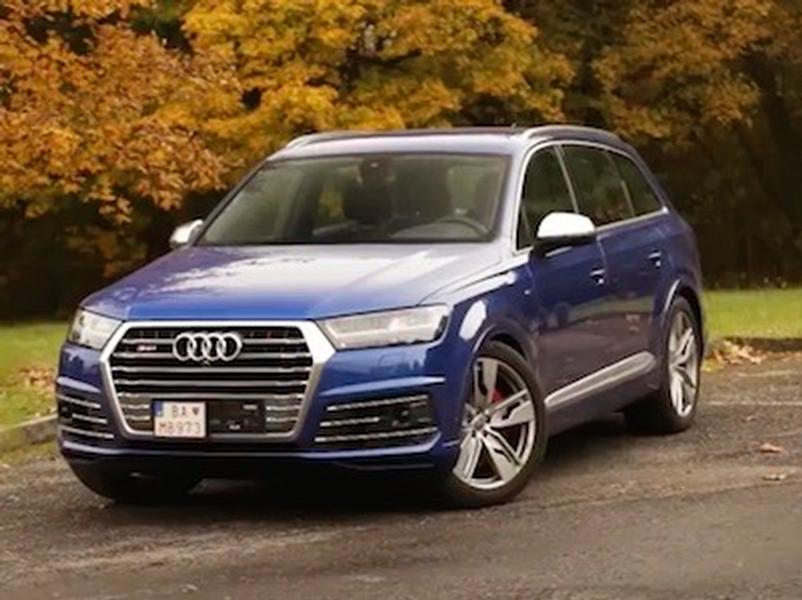Video test Audi SQ7