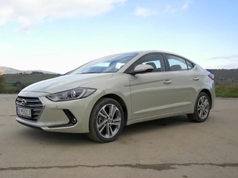Video test Hyundai Elantra 1,6 CRDi