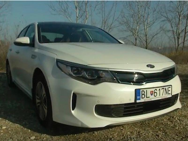 Video test Kia Optima P-HEV