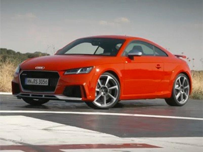 Video test Audi TT RS Coupe