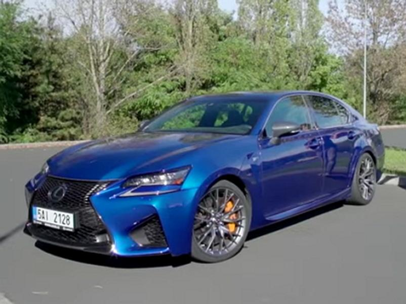 Video test Lexus GS F vs. Lexus GS 450h