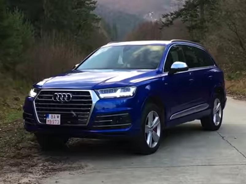 Video test Audi SQ7 4.0 V8 TDI