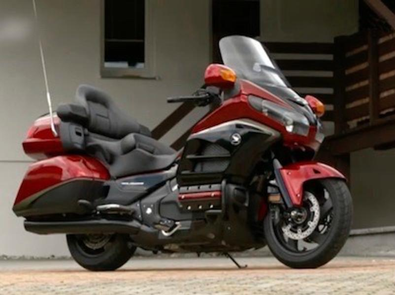 Video test Honda GL1800 Gold Wing