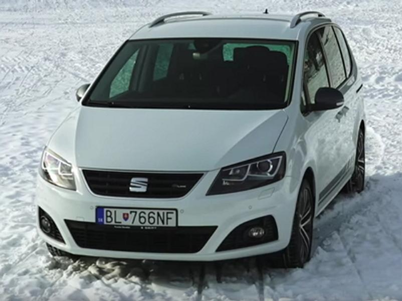 Video test Seat Alhambra 2.0 TDI DSG 4x4